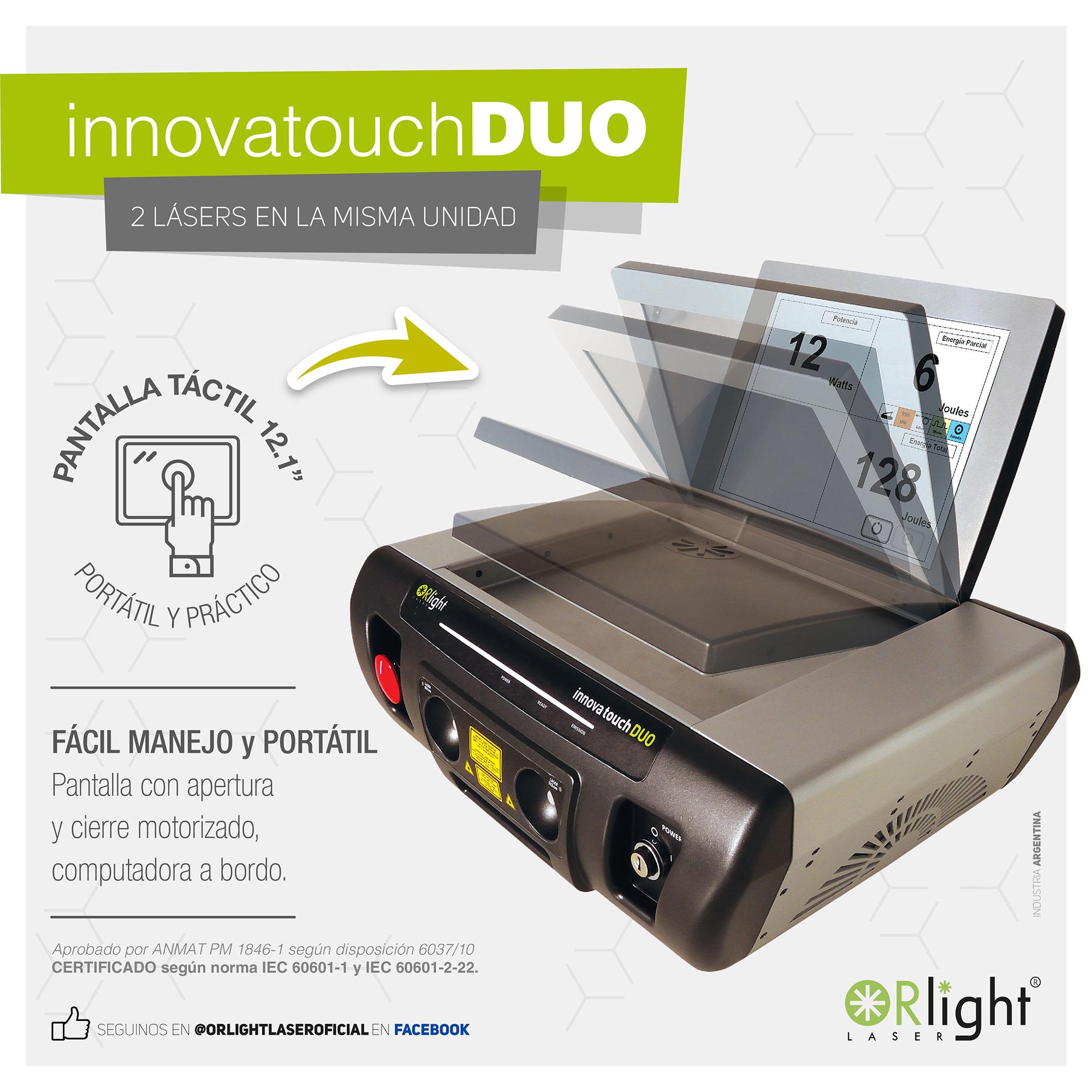 Innova Touch DUO - Pantalla Táctil